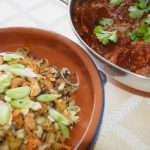 Grain-free Vegetable 'rice' with Indian Spices