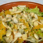 Fennel, Orange and Almond Salad
