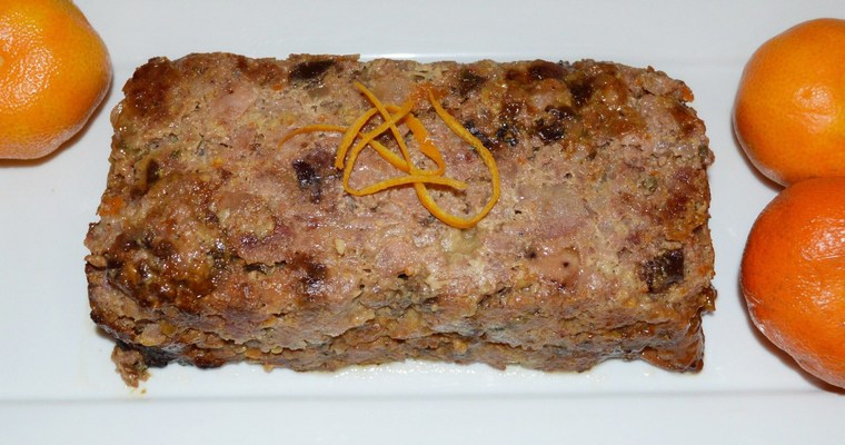 Gluten-free Christmas Clementine & Prune Forcemeat / Stuffing