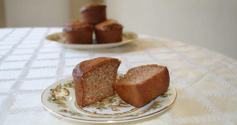Gluten-free Carrot & Pecan Muffins