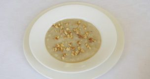 Celeriac and Pear Soup