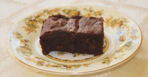 Gluten-free Rum & Raisin Chocolate Brownies