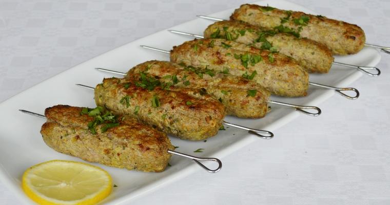 Gluten-free Lamb Kofta Skewers