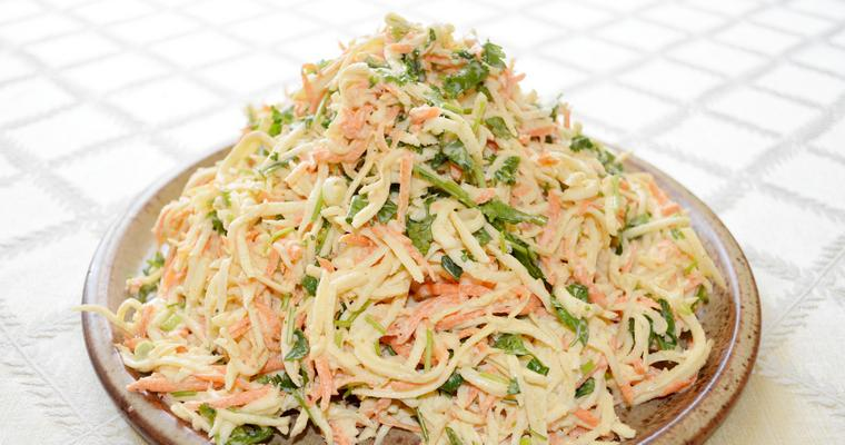 Carrot and Celeriac Coleslaw