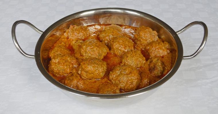 Lamb Kofta Korma Curry