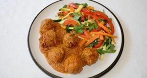 Gluten-free Lamb Kofta Masala Curry