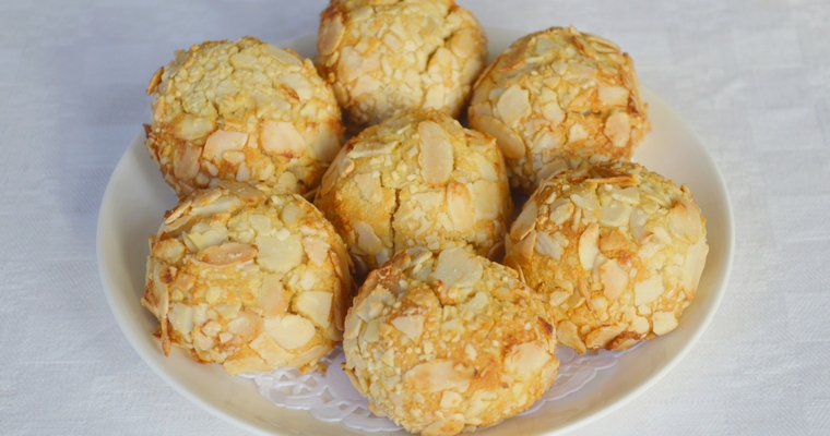 Gluten-free Cherry Almond Macaroons (made with honey)