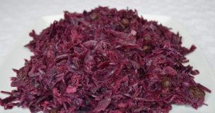 Braised Red Cabbage with Apple & Spices