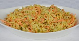 Carrot Cabbage & Dill Coleslaw