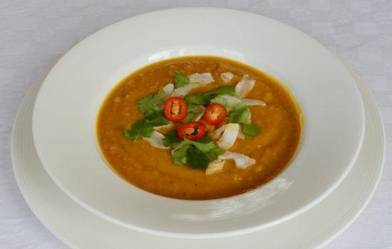 Sweet Potato, Chilli & Coconut Soup