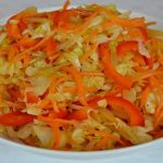 Caribbean Steamed Cabbage