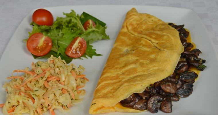 Folded Omelette