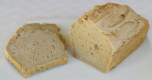 Fluffy and Crusty Gluten free Bread