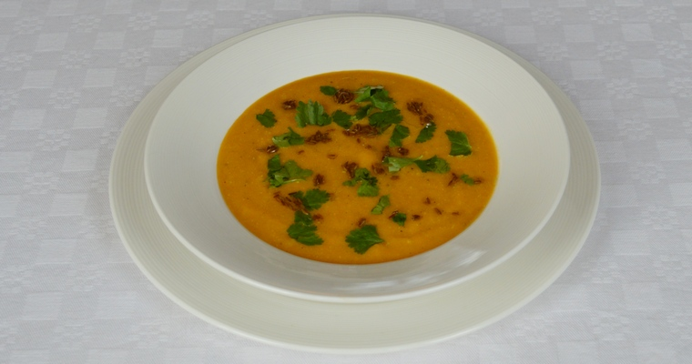 Carrot Cumin and Lime Soup