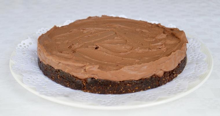Chestnut Truffle Cheesecake